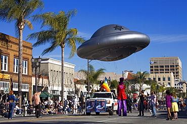 Spaceship, Doo Dah Parade, Pasadena, Los Angeles, California, United States of America, North America