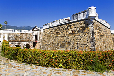 Fort San Diego in Acapulco City, State of Guerrero, Mexico, North America