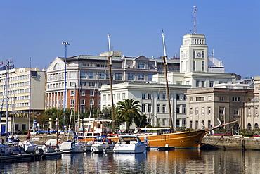 Darsena Marina, La Coruna, Galicia, Spain, Europe