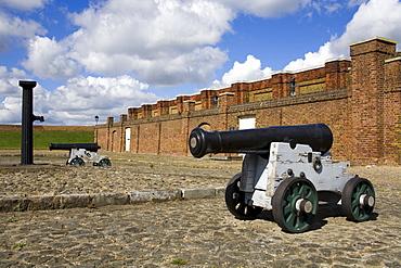 Tilbury Fort, Port of Tilbury, Essex, England, United Kingdom, Europe