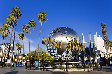 Globe at Universal Studios, Hollywood in Los Angeles, California, United States of America, North America