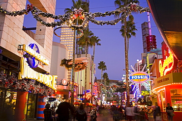CityWalk Mall at Universal Studios, Hollywood in Los Angeles, California, United States of America, North America