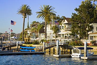 Bay Island in Balboa, Newport Beach, Orange County, California, United States of America, North America