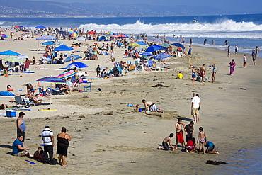 Summer day at Newport Beach, Orange County, California, United States of America, North America