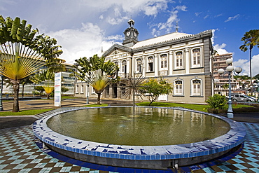 Municipal Theatre, Fort-de-France, Martinique, French Antilles, West Indies, Caribbean, Central America