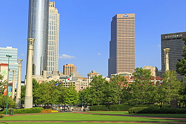 Centennial Olympic Park, Atlanta, Georgia, United States of America, North America