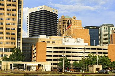 Downtown Birmingham skyline, Alabama, United States of America, North America