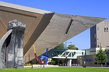 Denver Monoliths by Beverly Pepper, Denver Art Museum, Denver, Colorado, United States of America, North America