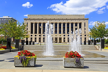 Metro Courthouse Public Square, Nashville, Tennessee, United States of America, North America