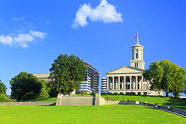 Bicentennial Capitol Mall State Park and Capitol Building, Nashville, Tennessee, United States of America, North America