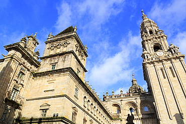 Cathedral, Santiago de Compostela, UNESCO World Heritage Site, Galicia, Spain, Europe