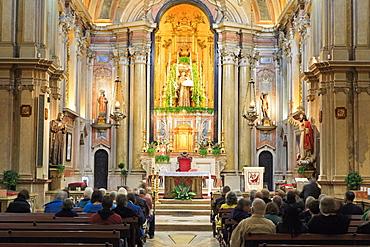 St. Anthony's Church, Alfama District, Lisbon, Portugal, Europe