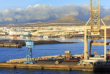 Port of Marmoles in Arrecife, Lanzarote Island, Canary Islands, Spain, Atlantic, Europe