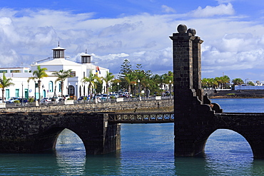 Las Bolas Bridge, Arrecife, Lanzarote Island, Canary Islands, Spain, Atlantic, Europe