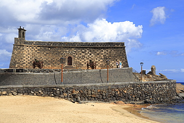San Gabriel Castle, Arrecife, Lanzarote Island, Canary Islands, Spain, Atlantic, Europe