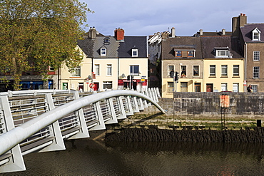 Shandon Bridge on Pope's Quay, River Lee, Cork City, County Cork, Munster, Republic of Ireland, Europe