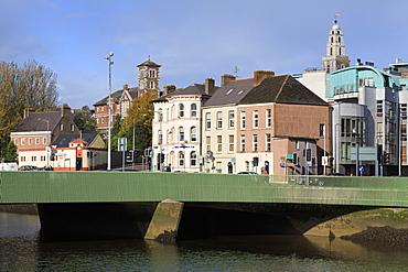 Christy Ring Bridge over the River Lee, Camden Quay, Cork City, County Cork, Munster, Republic of Ireland, Europe