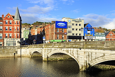 St. Patrick's Bridge over the River Lee, Cork City, County Cork, Munster, Republic of Ireland, Europe