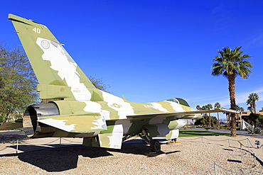 F16, Palm Springs Air Museum, Palm Springs, California, United States of America, North America