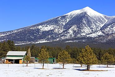 San Francisco Peak, Flagstaff, Arizona, United States of America, North America