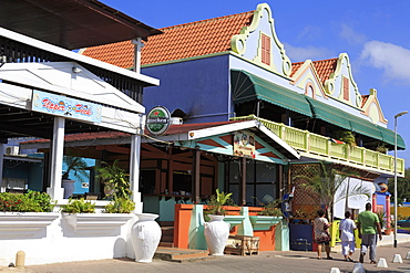 Harbourside Mall, Kralendijk, Bonaire, West Indies, Caribbean, Central America