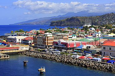 Port of Roseau, Dominica, Windward Islands, West Indies, Caribbean, Central America