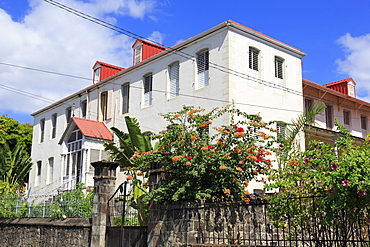 Cathedral Presbytery, Roseau, Dominica, Windward Islands, West Indies, Caribbean, Central America