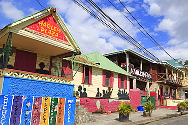 Harlem Plaza, Roseau, Dominica, Windward Islands, West Indies, Caribbean, Central America