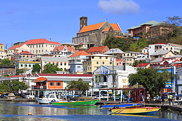 The Carenage, St. Georges, Grenada, Windward Islands, West Indies, Caribbean, Central America