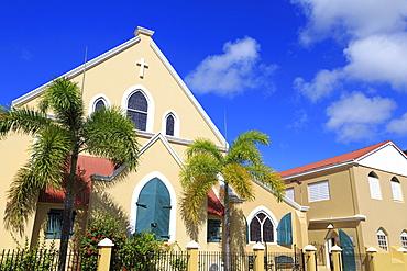 Christchurch Methodist Church, Charlotte Amalie, St. Thomas, United States Virgin Islands, West Indies, Caribbean, Central America