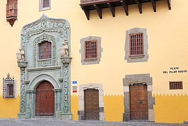 Casa de Colon Museum in the Vegueta District, Las Palmas City, Gran Canaria Island, Canary Islands, Spain, Europe