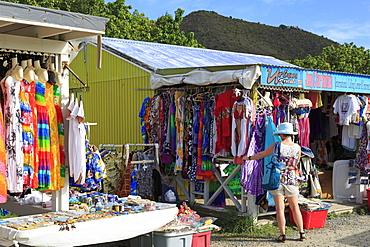 Craft store in Road Town, Tortola, British Virgin Islands, West Indies, Caribbean, Central America