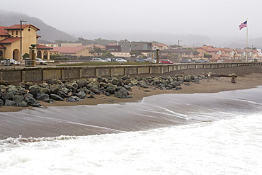 Stormy day in Pacifica, California, United States of America, North America