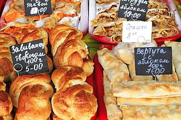 Bakery in Odessa, Crimea, Ukraine, Europe