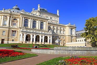 Opera House, Odessa, Crimea, Ukraine, Europe