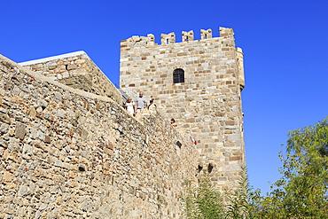 Castle of St. Peter, Bodrum, Anatolia, Turkey, Asia Minor, Eurasia