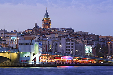 Galata Bridge, Istanbul, Turkey, Europe