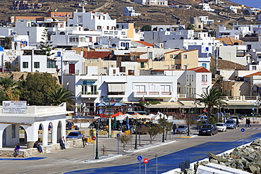 Port of Hora, Tinos Island, Cyclades, Greek Islands, Greece, Europe