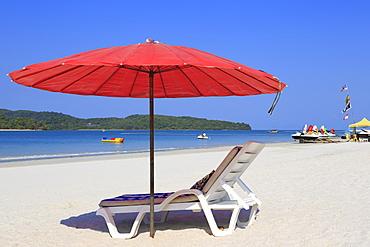 Chenang Beach, Langkawi Island, Malaysia, Southeast Asia, Asia