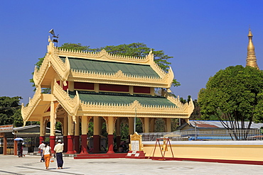Maha Wizaya Pagoda, Yangon (Rangoon), Myanmar (Burma), Asia
