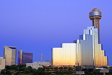 Reunion Tower, Dallas, Texas, United States of America, North America