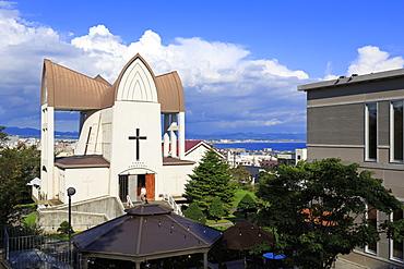 Episcopal Church, Hakodate City, Hokkaido Prefecture, Japan, Asia