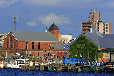 Red Brick Warehouse District, Hakodate City, Hokkaido Prefecture, Japan, Asia