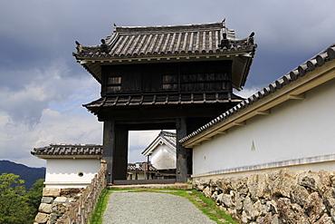 Kochi Castle Gate, Kochi City, Shikoku Island, Japan, Asia