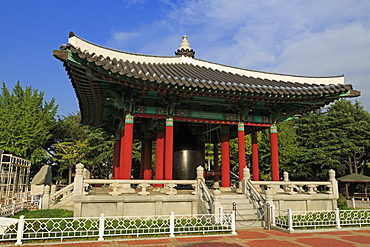 Citizen's Bell Pavillion, Yongdusan Park, Busan, South Korea, Asia