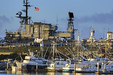 USS Midway, Tuna Harbor, San Diego, California, United States of America, North America