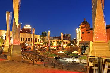 Horton Plaza Park, Gaslamp Quarter, San Diego, California, United States of America, North America