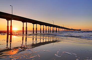 Ocean Beach Pier, San Diego, California, United States of America, North America