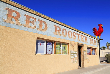 Red Rooster Bar, Overton, Nevada, United States of America, North America