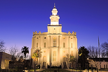 St. George Temple, St. George, Utah, United States of America, North America